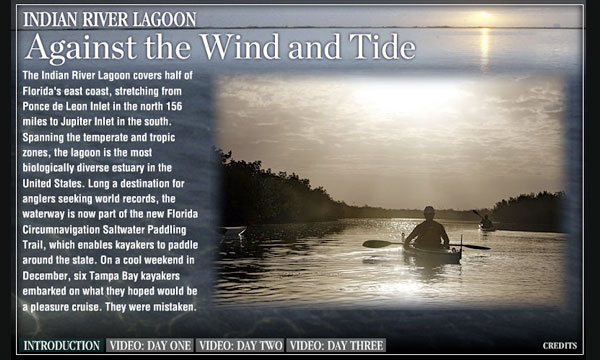 Against the wind and tide